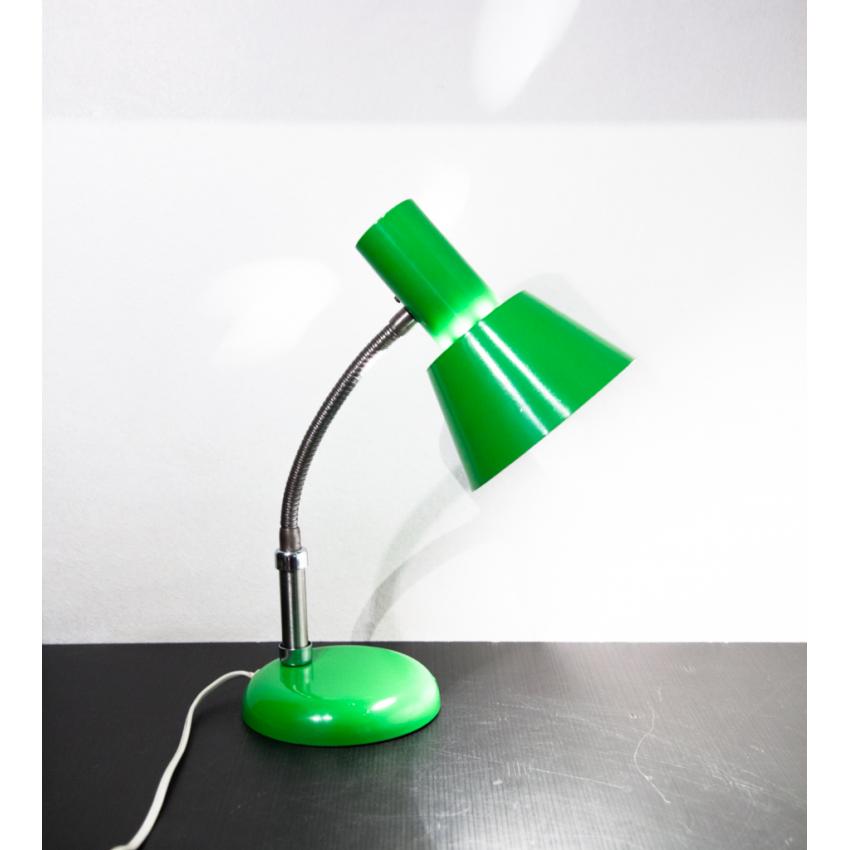 Lampe de bureau vintage et vert pomme !
