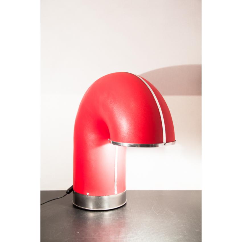 Grande lampe tuyau rouge - Périscope