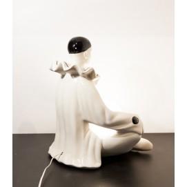 Grande lampe Pierrot vintage