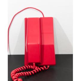 Téléphone Contempra rouge - Northern Electric - 1968