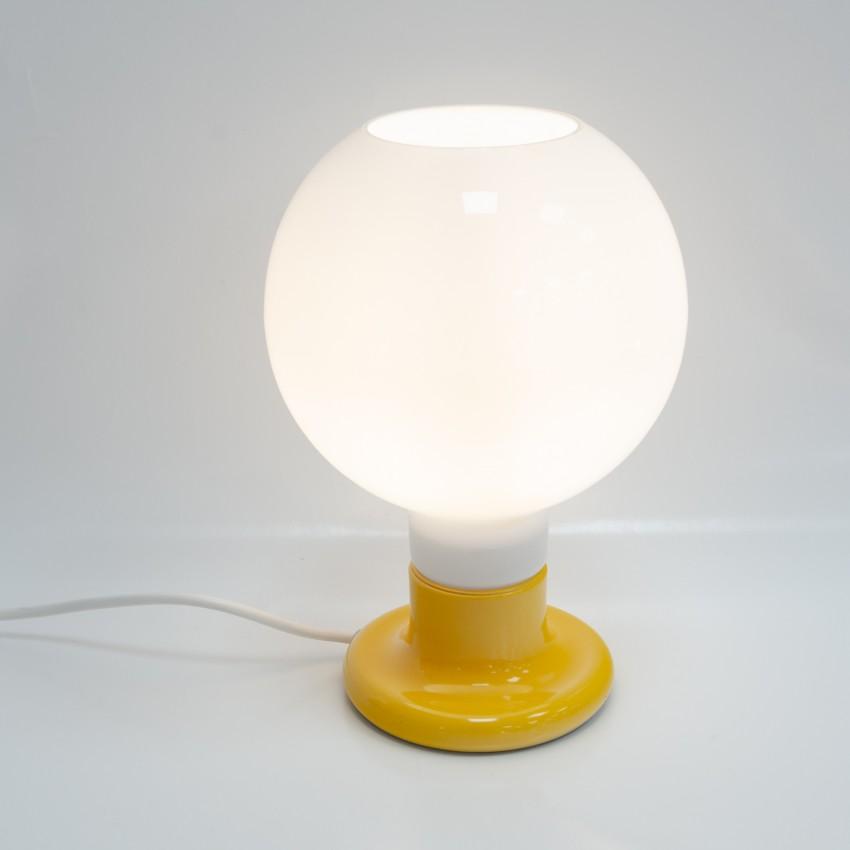 Lampe à poser en métal et verre Cosack Leuchten