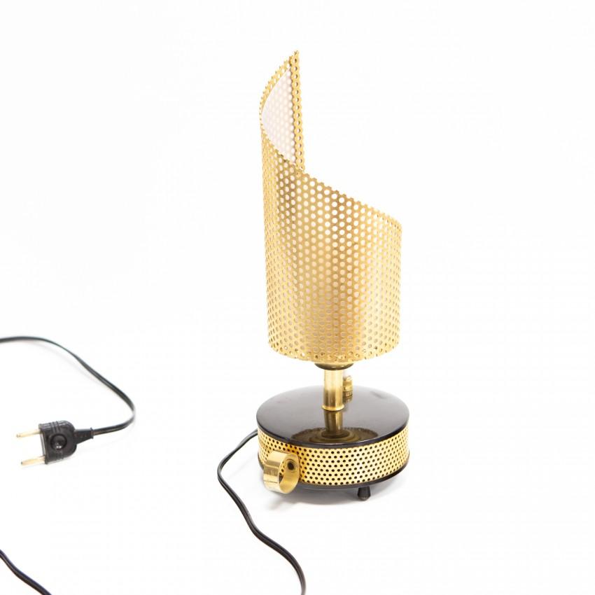 Lampe Téléambiance en tôle perforée des années 1950