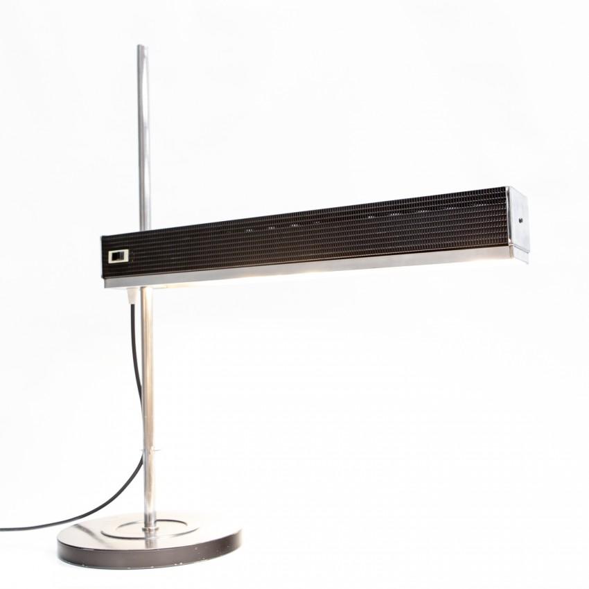 Jumo RS 48 - Grande lampe de bureau déportée en tôle perforée