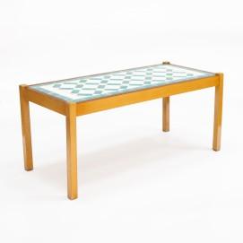 Table basse en mosaïque