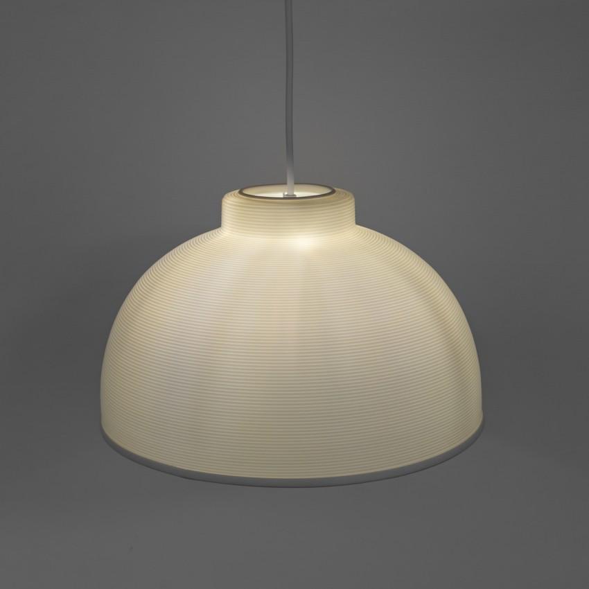 Suspension gamelle en Rotaflex pour ampoule à calotte argentée