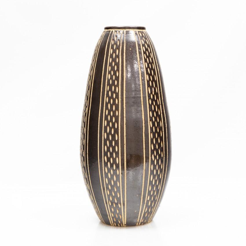 Grand vase - Sgraffito