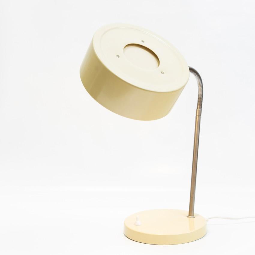 Lampe de bureau orientable des années 1960 VEB Leuchtenbau Erfurt
