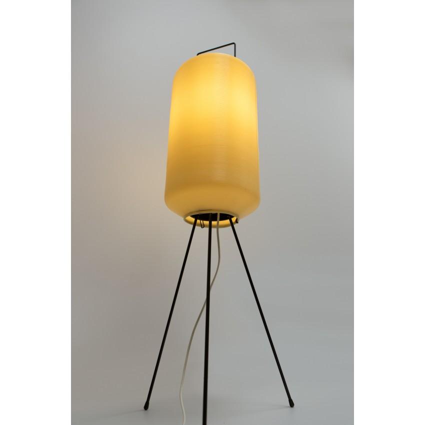 Lampe de sol tripode en Rotaflex