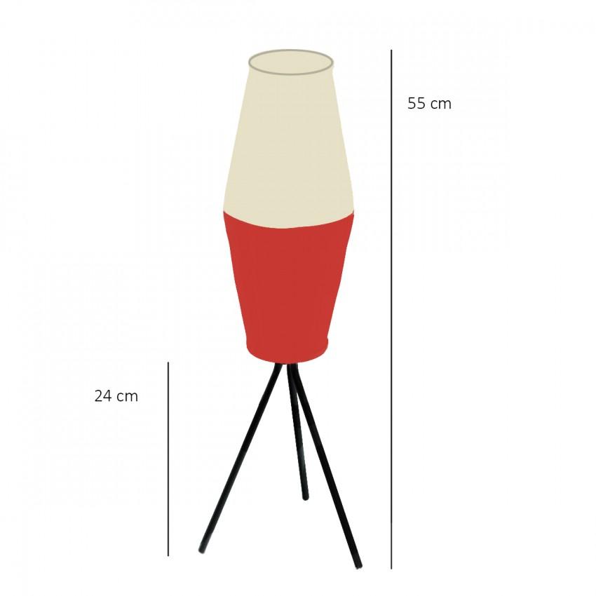 Dimensions du luminaire Rotaflex