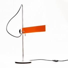 Lampe Monix orange en porte-à-faux d'Étienne Fermiger