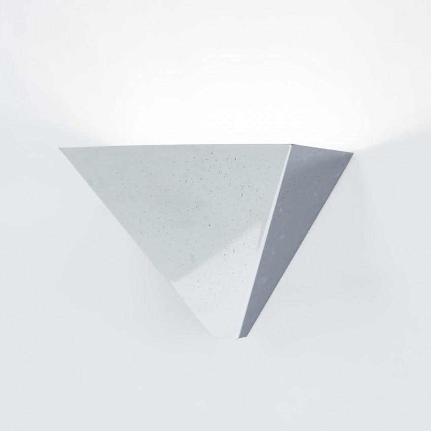 Appliques triangulaires en métal chromé