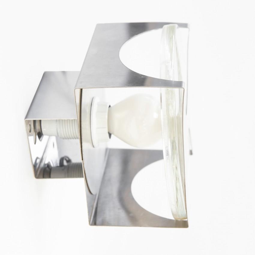 Applique en métal et verre Oxar