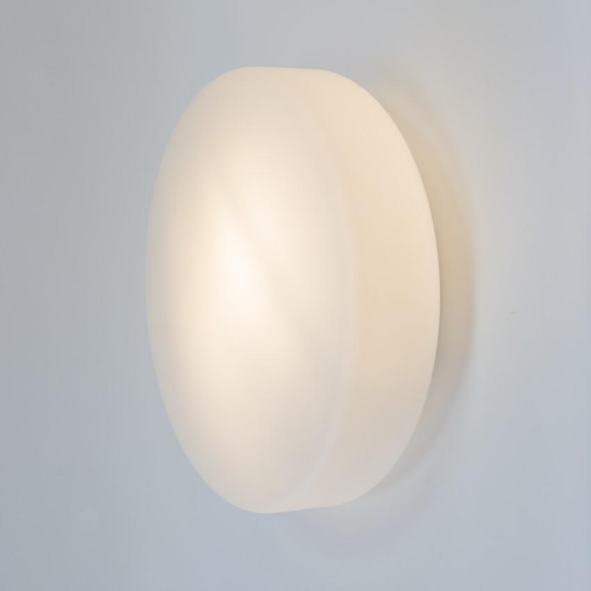 Plafonnier cylindrique en verre opale Philips