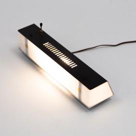 Lampe de télévision en plexiglas de Raymond Monédi