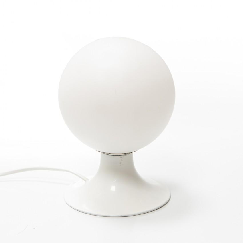 Lampe monopode au diffuseur sphérique des années 1960