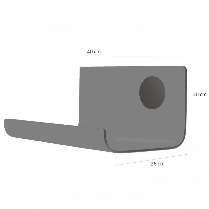 Chevet lumineux La Plagne Guariche dimensions