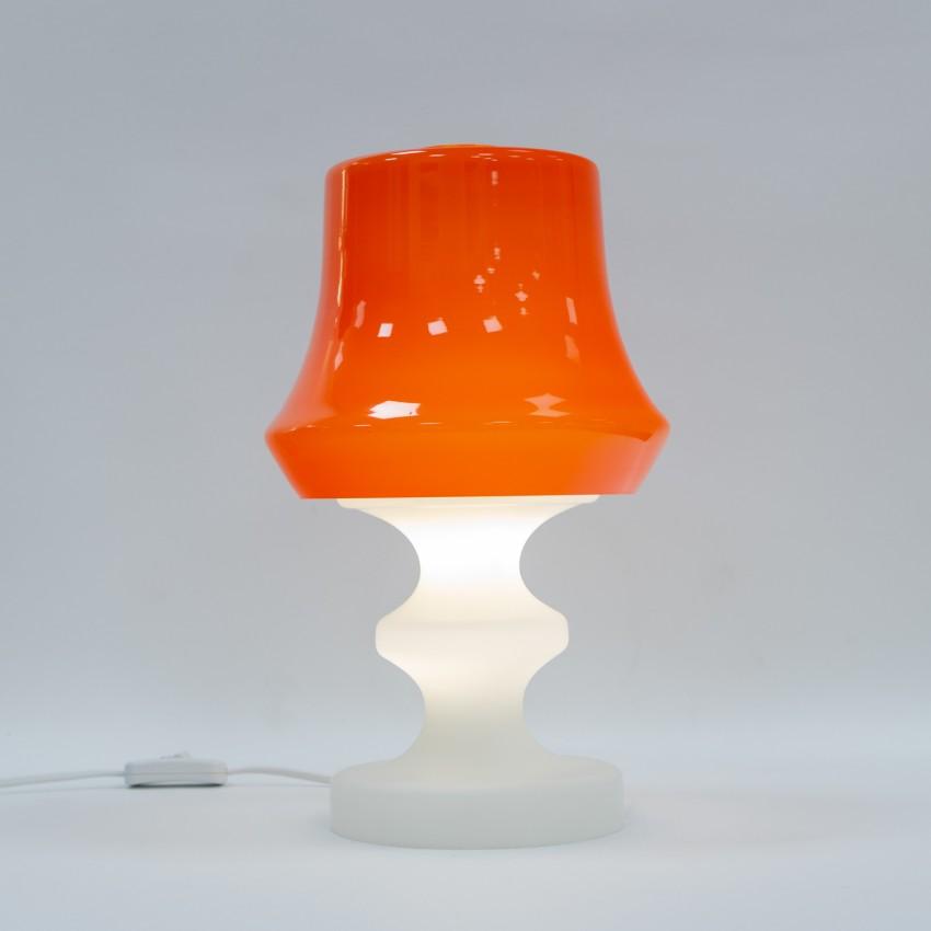 Lampe en verre Valasske Mezirici
