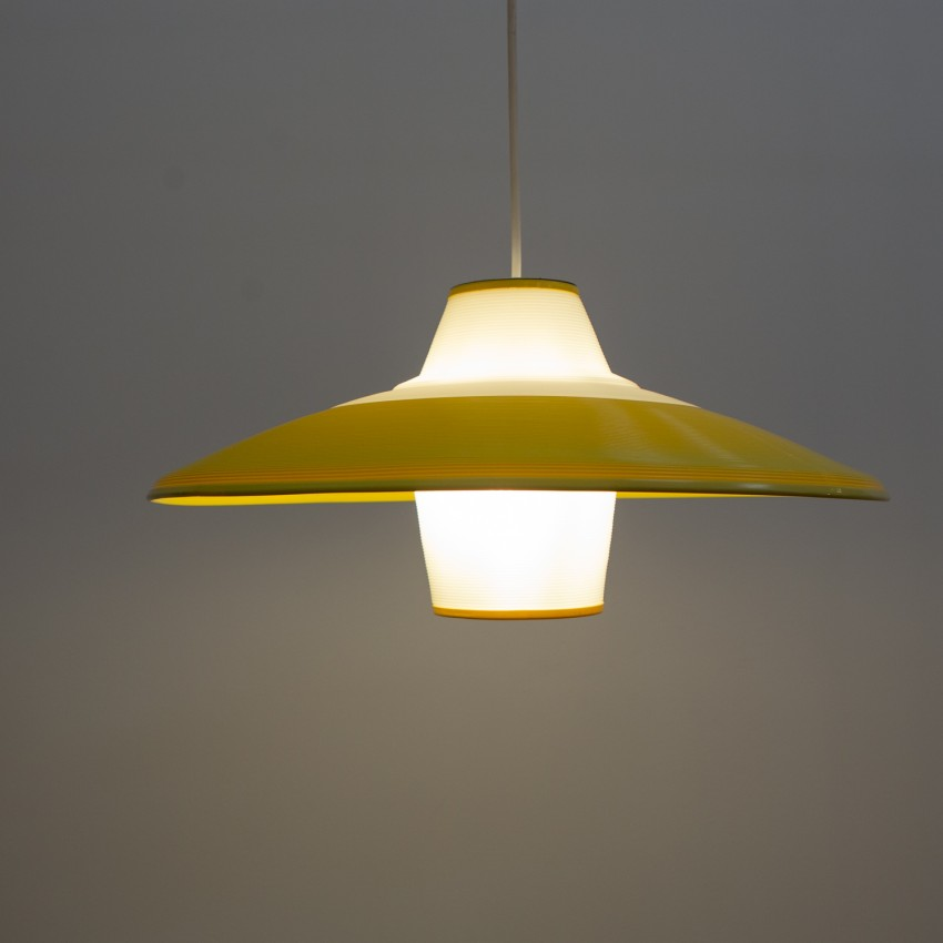 Rotaflex jaune et blanc