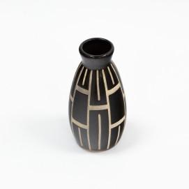 Céramique décorative ornée d'un sgraffite - Piesche et Reif