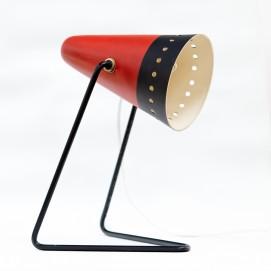 Lampe cocotte en tôle perforée