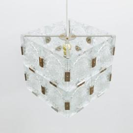 Lustre cubique Kamenicky Senov