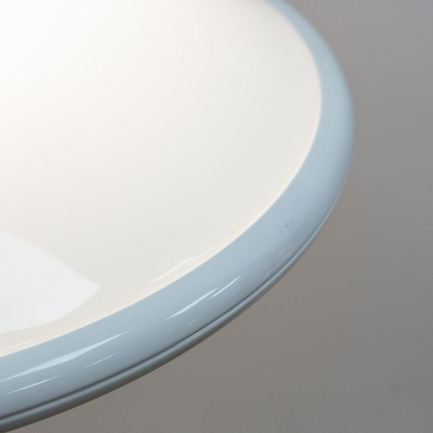 Grande suspension en Plexiglas et métal - Valenti