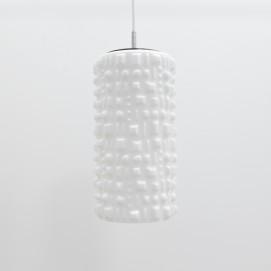 Suspension cylindrique en verre gravé Peill & Putzler