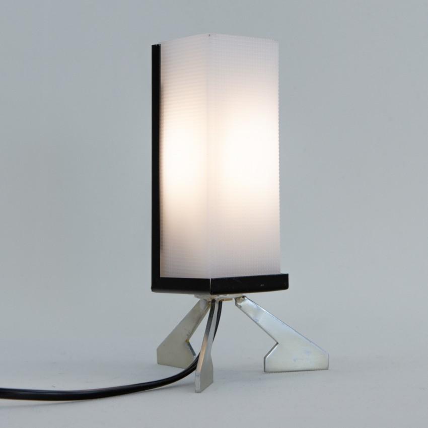 Lampe d'appoint tripode des années 50