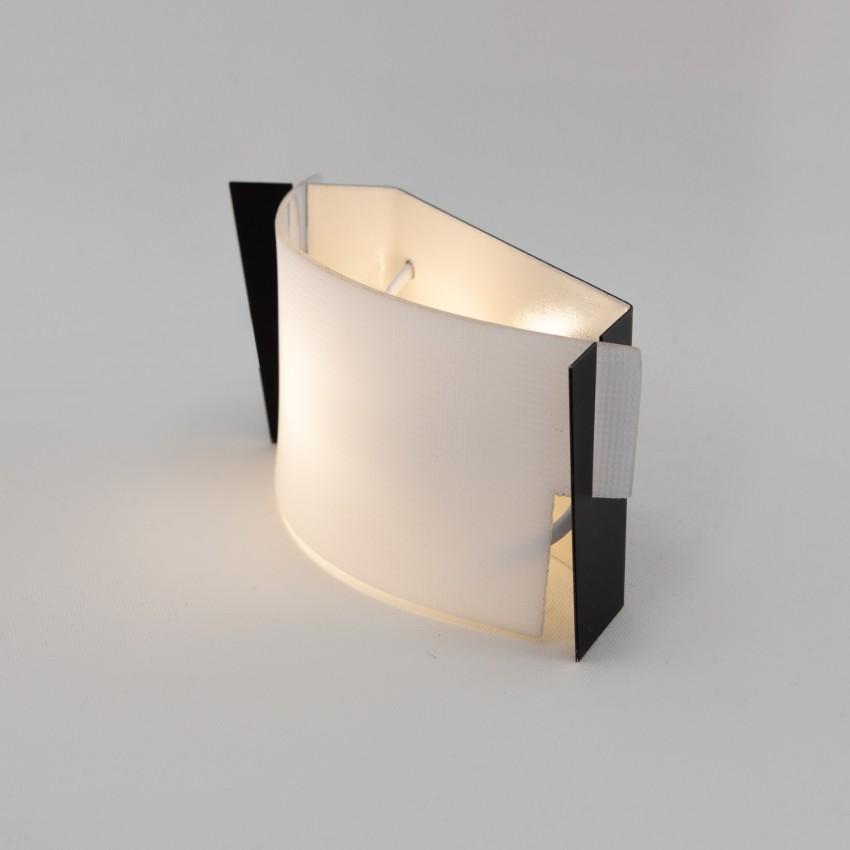Applique écran Plexiglas et métal - Marcel Delmas