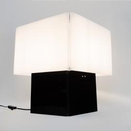 Cube lumineux en Plexiglas des années 1960