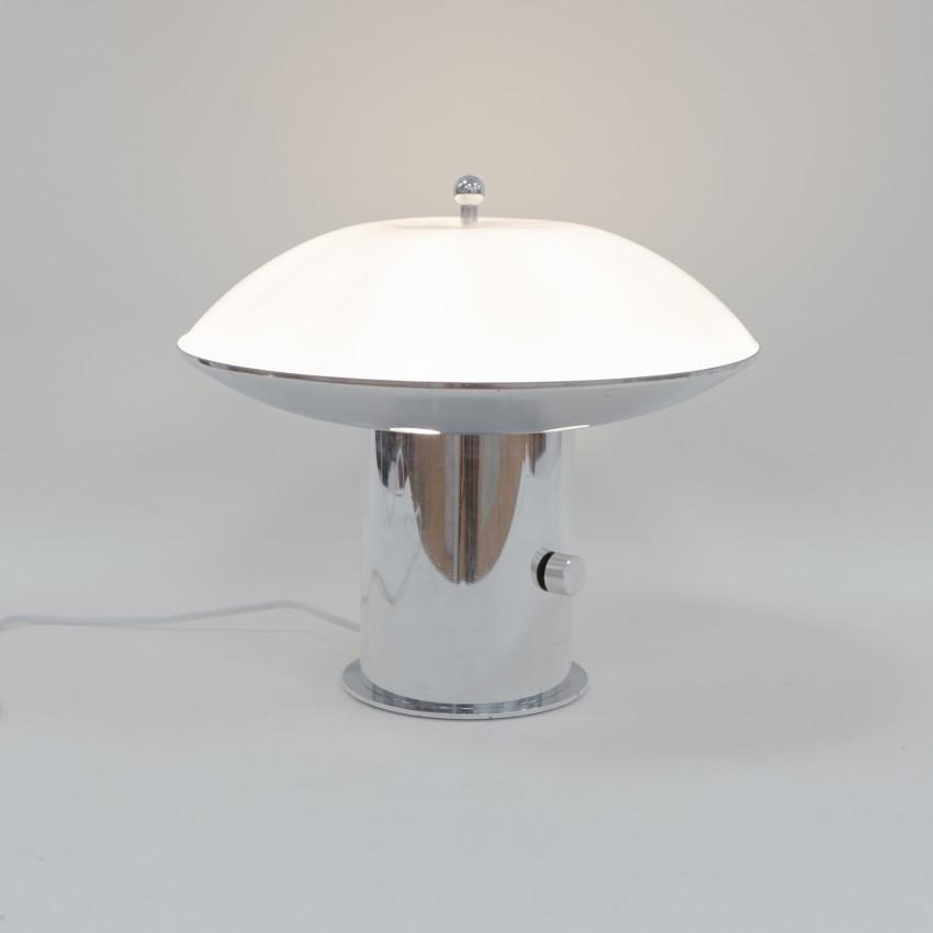 Lampe champignon en Plexiglas des années 1960