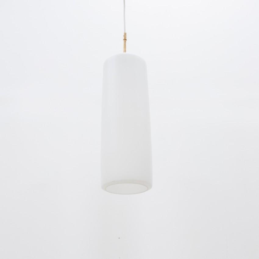 Suspension cylindrique en verre Peill & Putzler