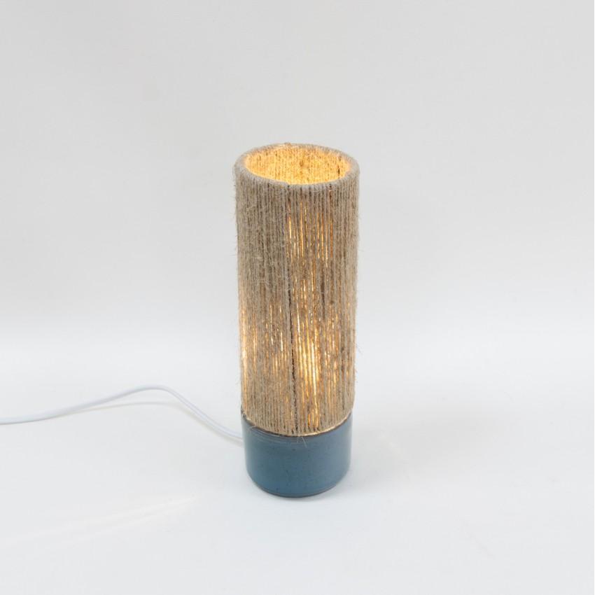 Lampe en céramique et cordelette - VA