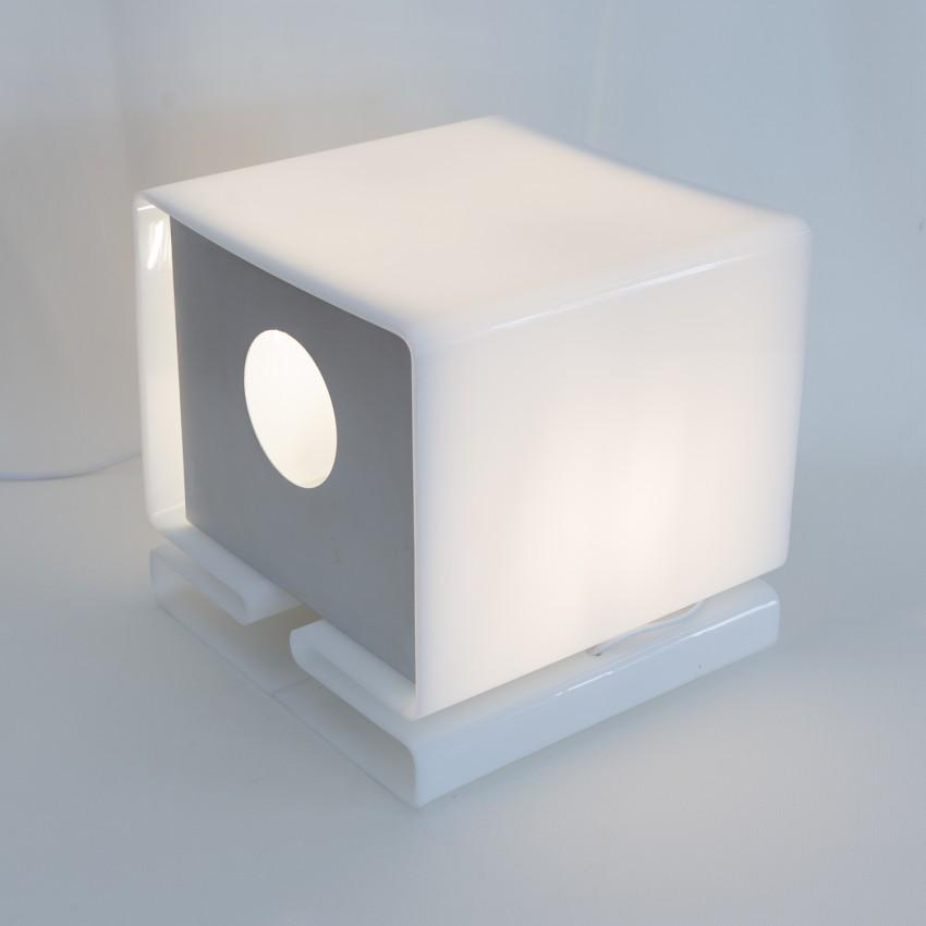 Lampe cubique en Plexiglas - Moinier