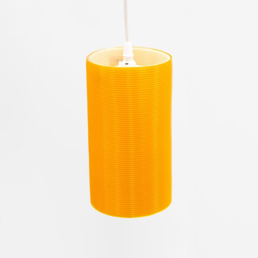 Cylindre en Rotaflex orange - Bernard Stern