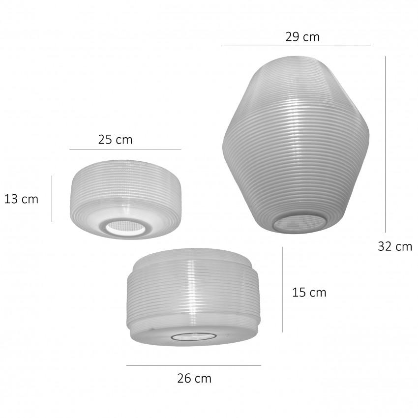Lustre Rotaflex - Dimensions