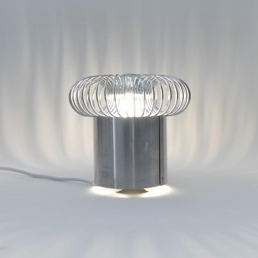 Lampe à ressort Oxar pour ampoule à calotte argentée