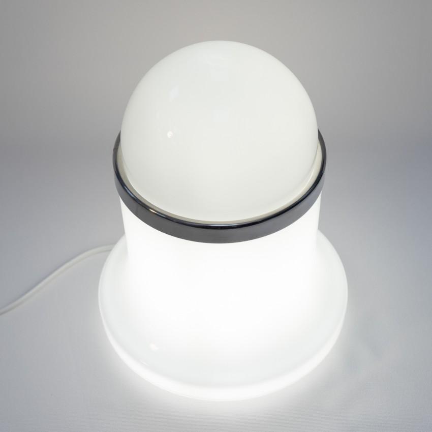 Lampe cylindre et boule des années 1960 - Reggiani