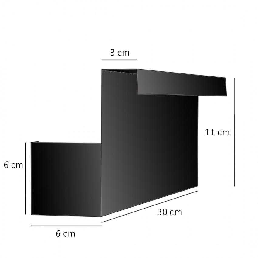 Appliques de chevet en tôle perforée et Plexiglas