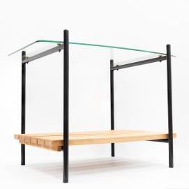 Table basse Charron - Groupe 4 - Caillette, Motte, Landier