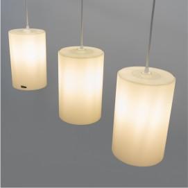 Suspension cylindrique Vistosi - Murano