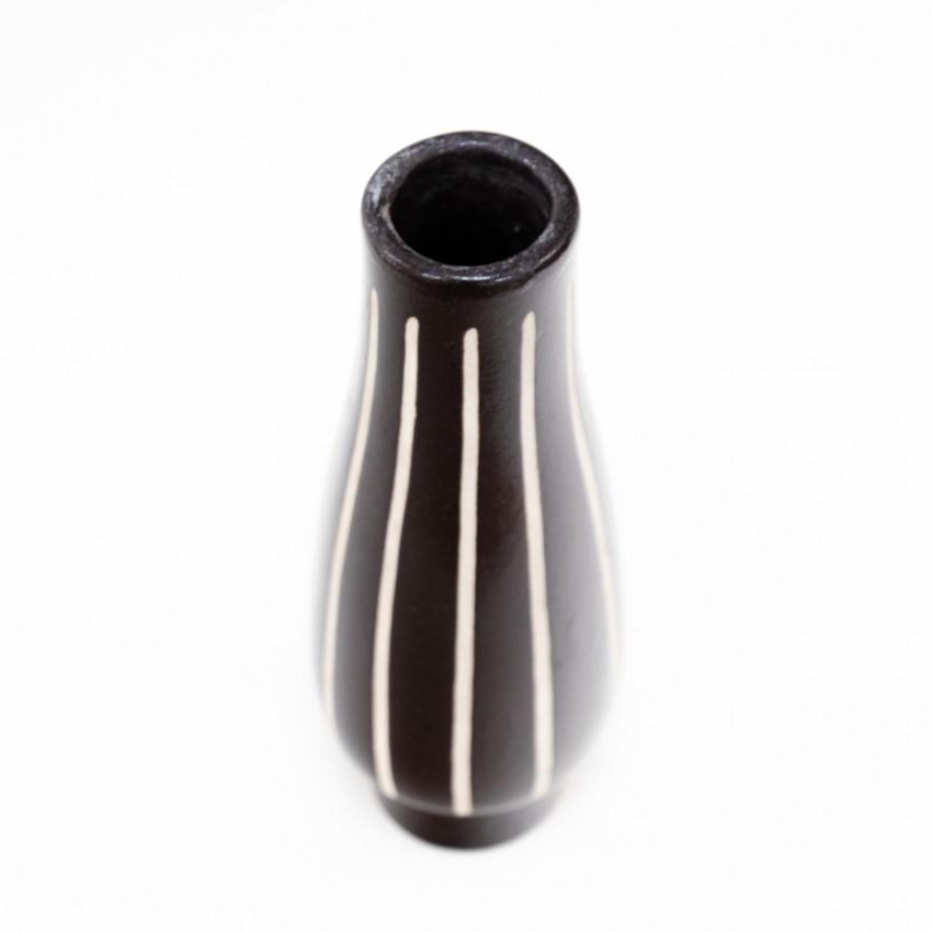 Céramique noire et blanche Piesche & Reif - VEB Lausitzer