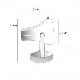 Spot à poser Fermigier - Disderot F39-P - Dimensions