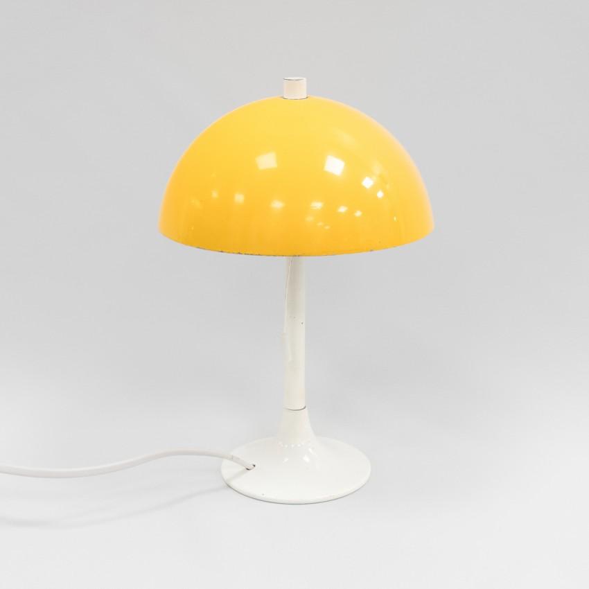 Lampe champignon en tôle de Marcel Delmas