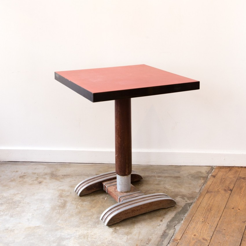 table bistro gu ridon art d co. Black Bedroom Furniture Sets. Home Design Ideas