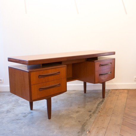 bureau g plan en teck enfilade et coiffeuse circa 1950 1960. Black Bedroom Furniture Sets. Home Design Ideas