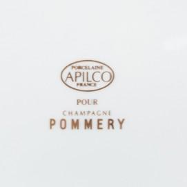 Cendrier publicitaire pour les champagnes Pommery