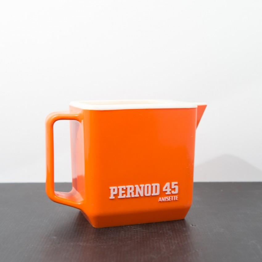 Pichet Pernod 45 orange