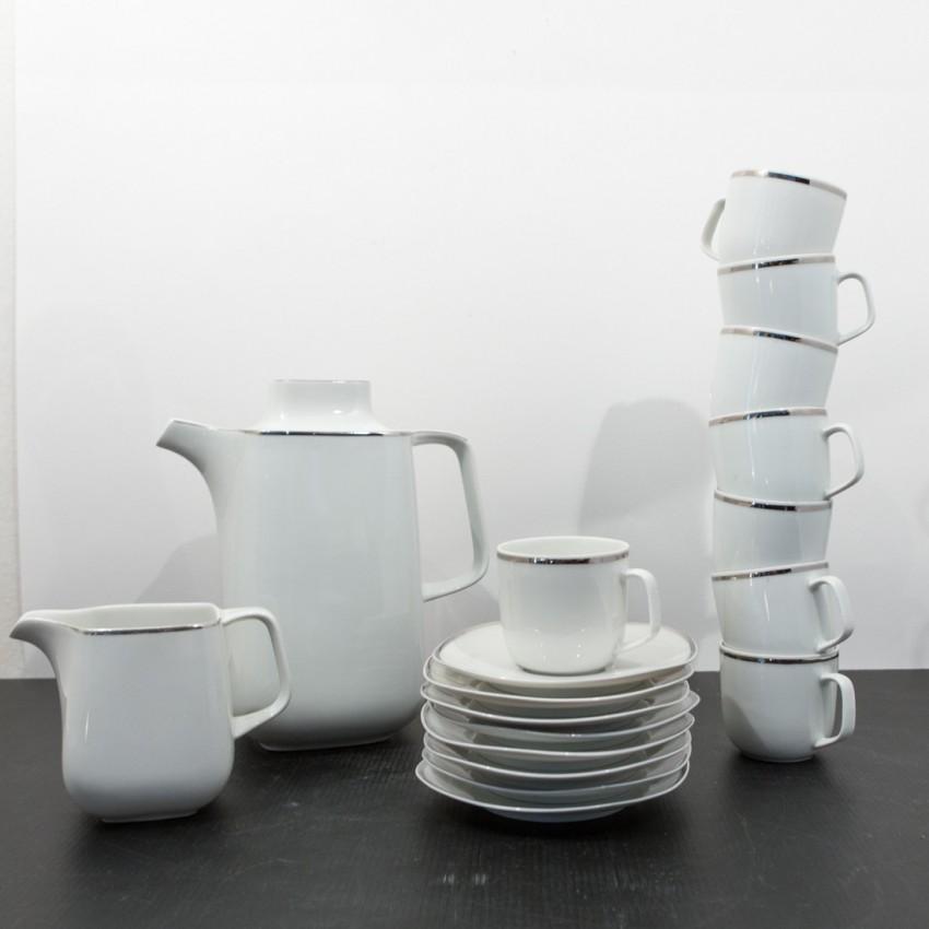 Service à café en porcelaine - Scherzer
