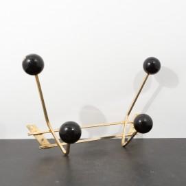 Patères vintage boules